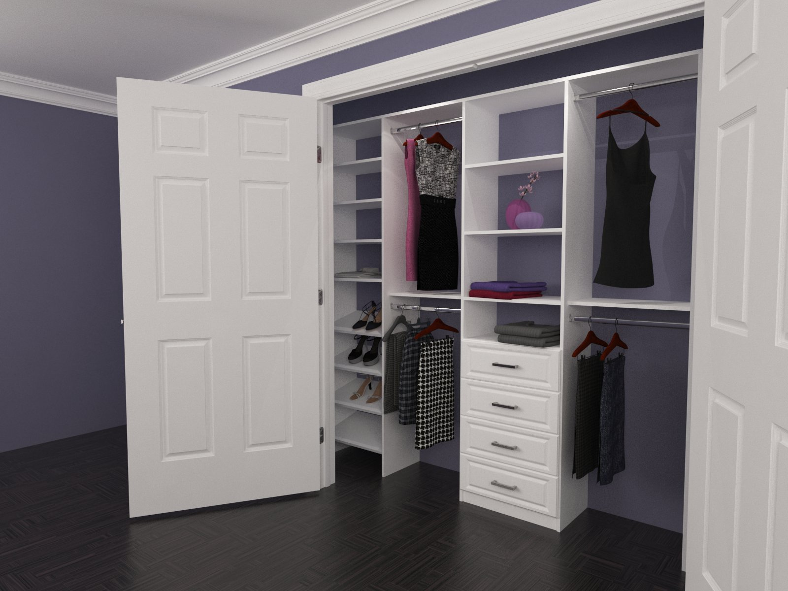 Custom closet organizers inc custom closets toronto Pictures of closet organizers