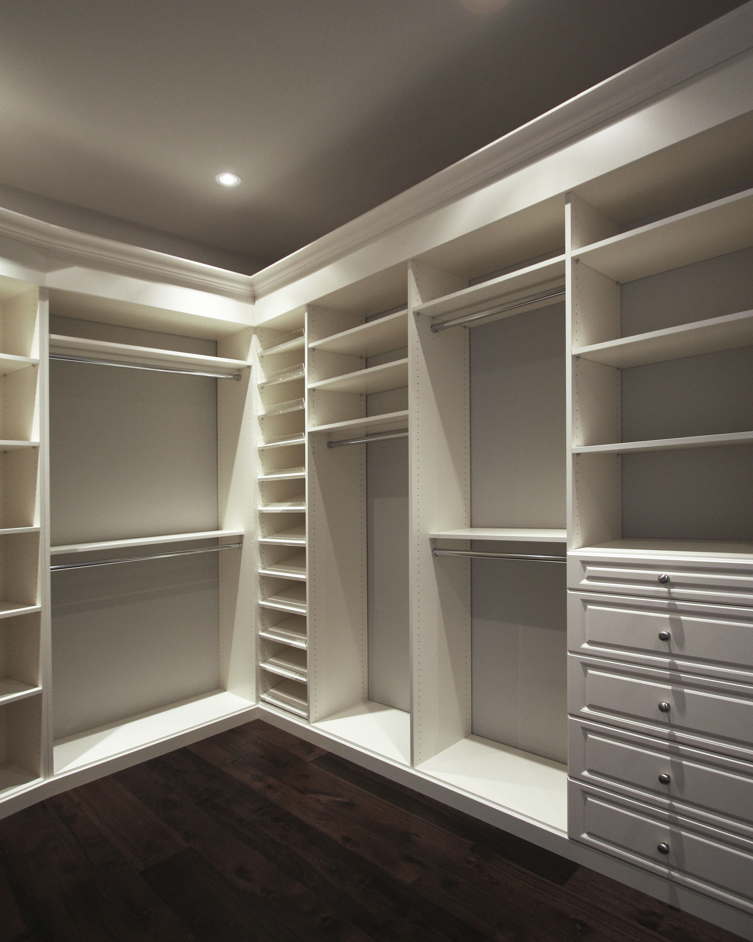 Create E With Closet Organizers